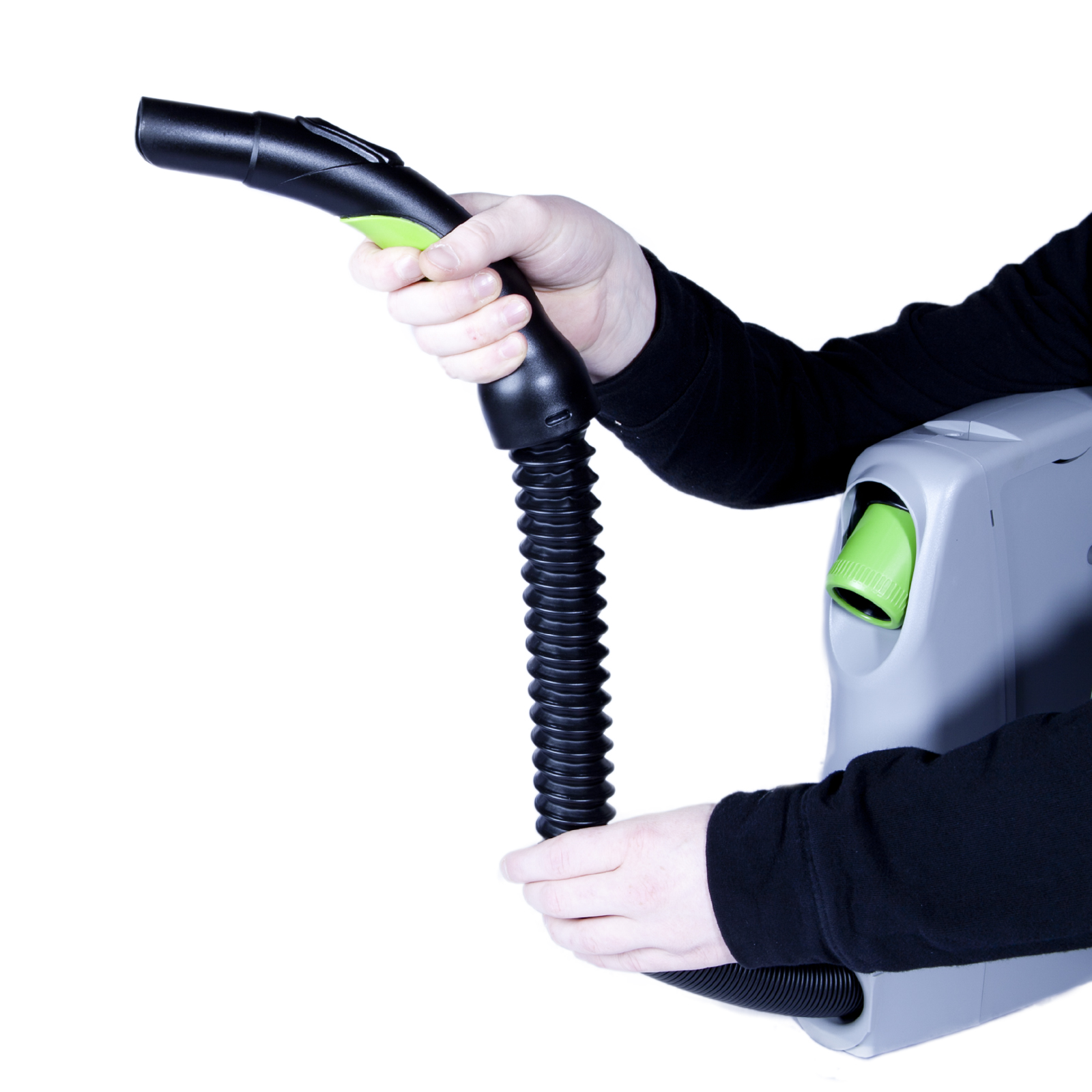 Vroom 6.7m flexibler Einzugschlauch Schlaucheinzug für Zentralstaubsauger